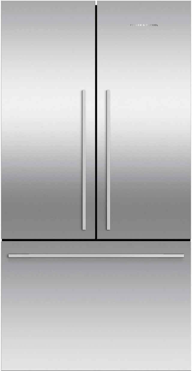 Réfrigérateur à portes françaises à profondeur de comptoir de 32 po Fisher Paykel® de 20,1 pi³ - Acier inoxydable-RF201ADJSX5