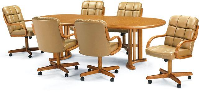 Chromcraft™ Dining Table-CD217M+CD77M