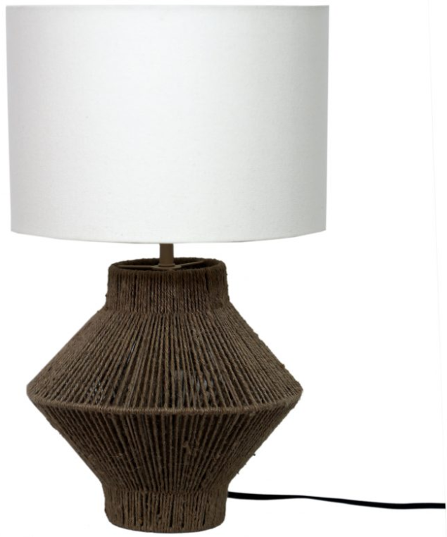 Moe's Home Collections Newport Brown Table Lamp-OD-1011-24