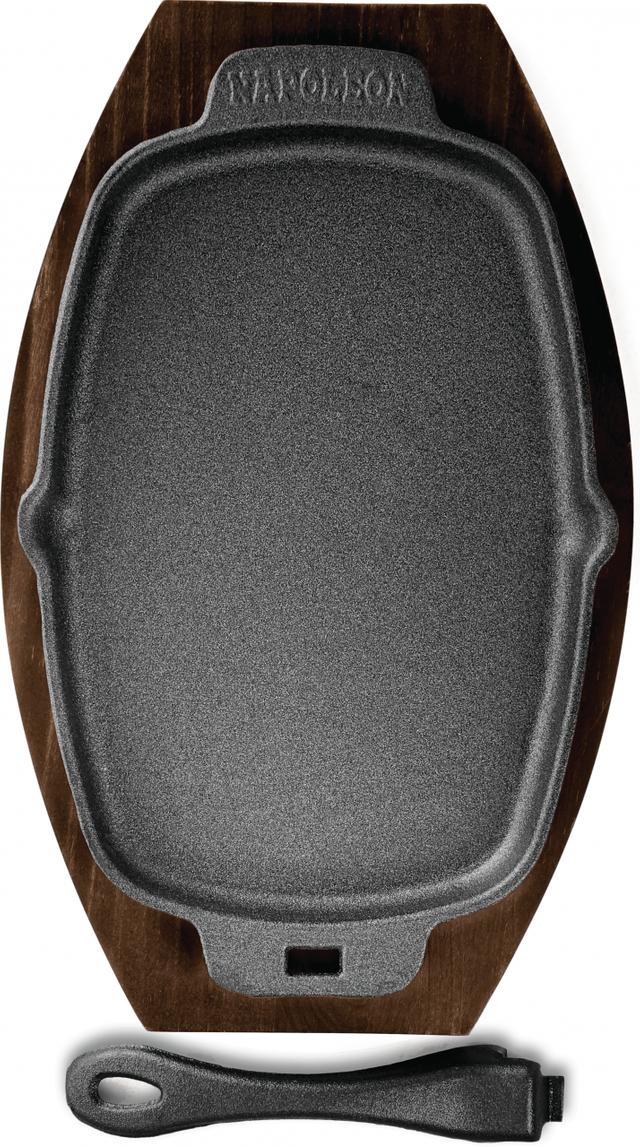 Napoleon Cast Iron Sizzle Platter-56008