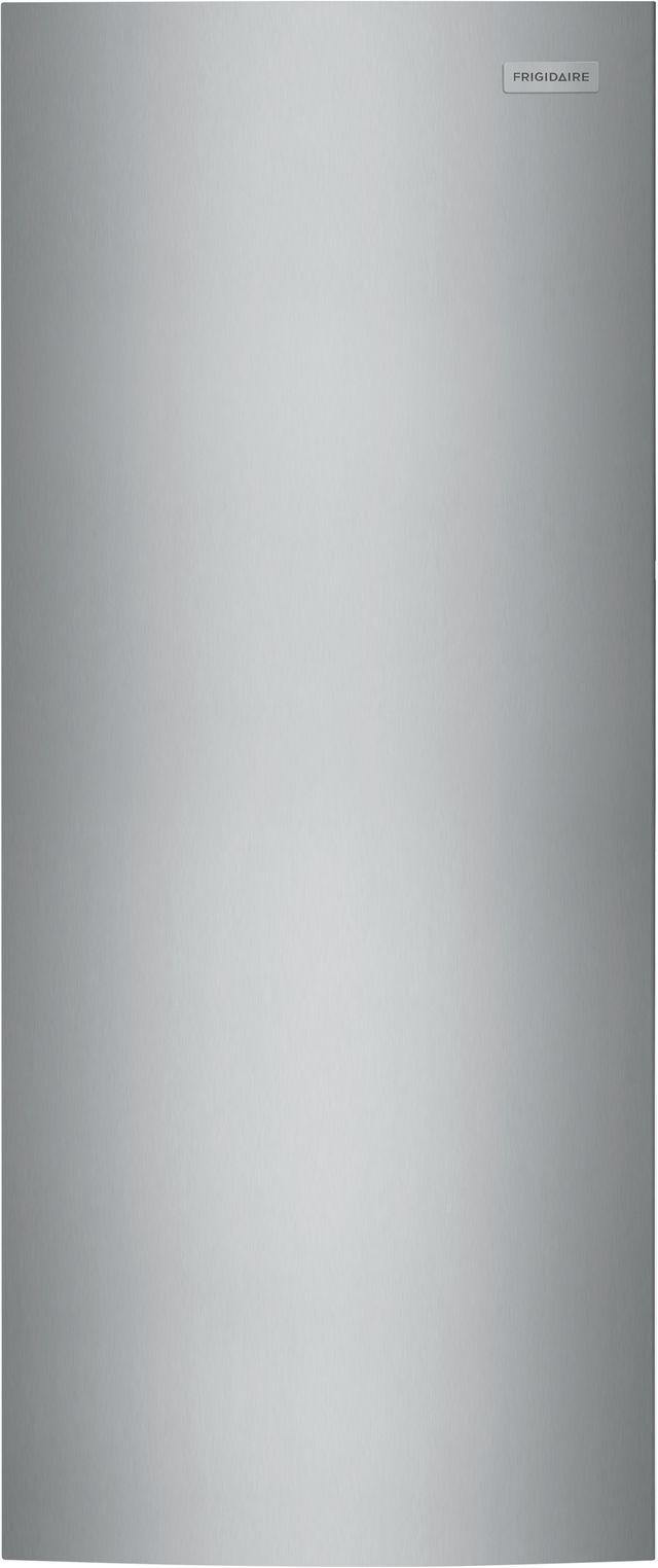 Frigidaire® 15.5 Cu. Ft. Brushed Steel Upright Freezer-FFFU16F2VV