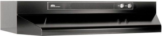 """Broan® 46000 Series 30"""" Black Under Cabinet Range Hood-463023"""