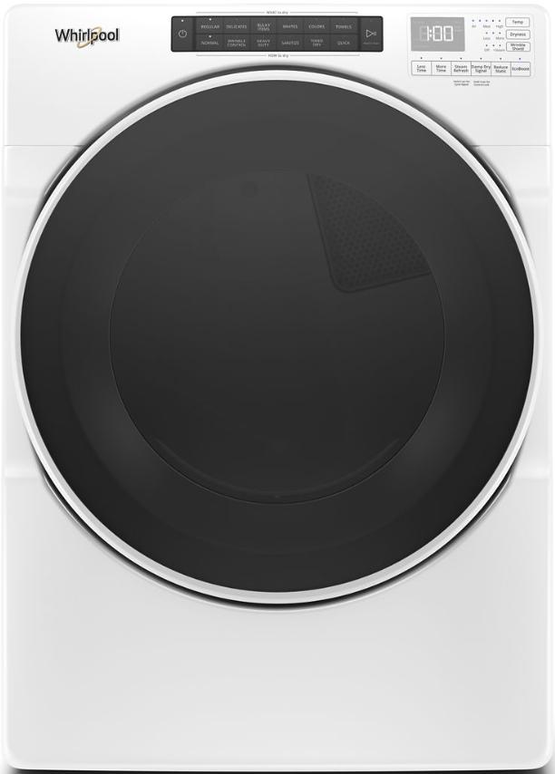 Whirlpool® 7.4 Cu. Ft. White Front Load Gas Dryer-WGD6620HW