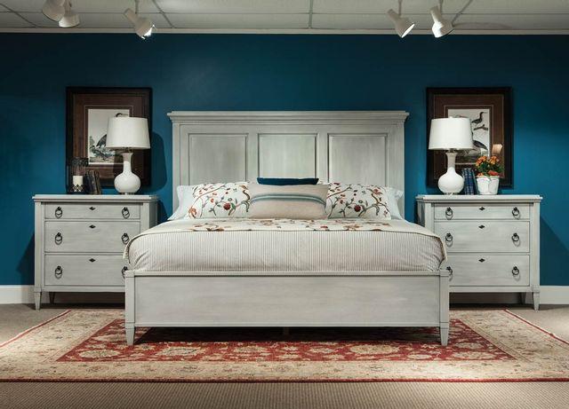 Lit à panneaux très grand Springville, blanc, Durham Furniture®-145-144