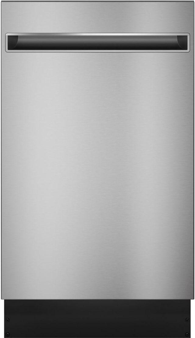 "Haier 18"" Stainless Steel Built In Dishwasher-QDT125SSLSS"