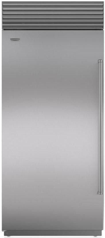 Sub-Zero® 22.6 Cu. Ft. Stainless Steel Upright Freezer-BI-36F/S/TH-LH