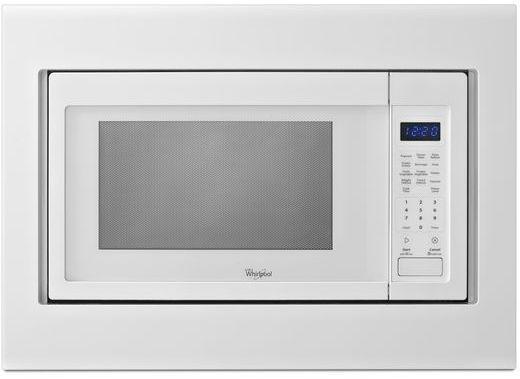 "Whirlpool® 30"" White Microwave Trim Kit-MK2160AW"