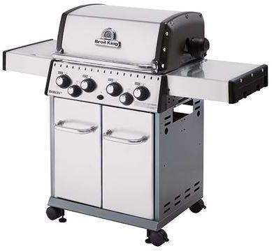 """Broil King® Baron 490 S 24"""" Stainless Steel Free Standing Grill-922584"""