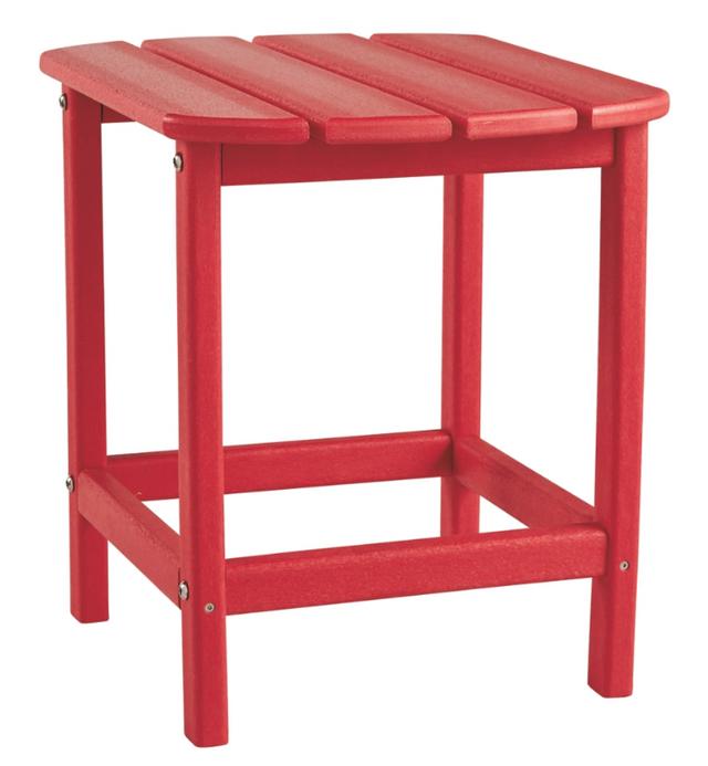 Signature Design by Ashley® Sundown Treasure Red Rectangular End Table-P013-703