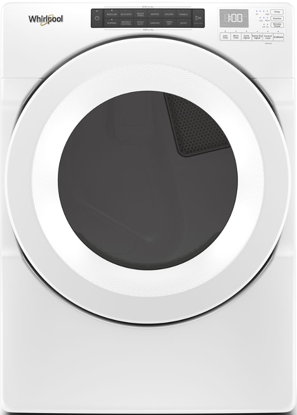 Whirlpool® 7.4 Cu. Ft. White Front Load Electric Dryer-WED5620HW
