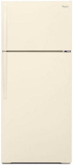 Whirlpool® 16.0 Cu. Ft. Top Freezer Refrigerator-Biscuit-WRT106TFDT
