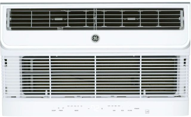 GE® 12,000 BTU's Soft Gray Thru the Wall Built In Heat/Cool Room Air Conditioner-AJEM12DCH