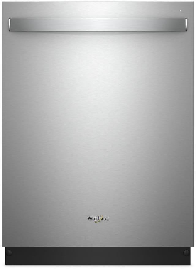 "Whirlpool® 24"" Built In Dishwasher-Fingerprint Resistant Stainless Steel-WDT750SAHZ"
