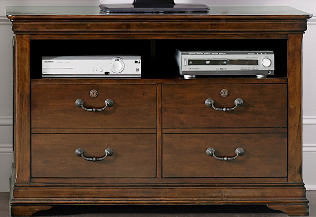 Liberty Furniture Chateau Valley Home Office Media File Cabinet-901-HO146