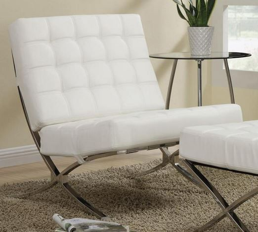 Coaster® White Accent Seating Chair-902183