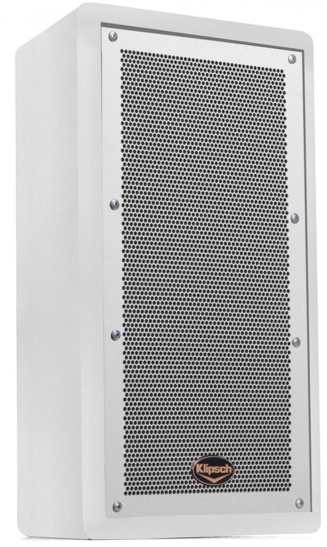 "Klipsch® Trapezoidal White 8"" 2-Way Loudspeaker System-1061961"