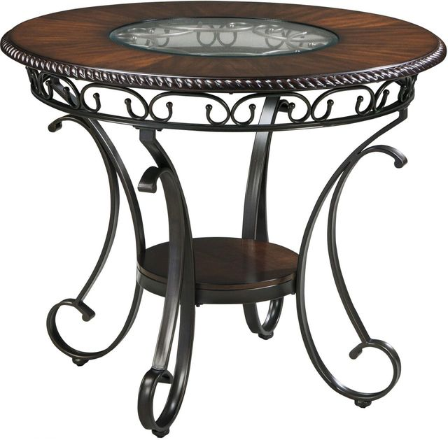 Signature Design by Ashley® Glambrey Brown Round DRM Counter Table-D329-13