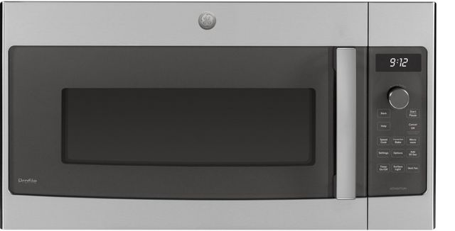 GE Profile™ 1.7 Cu. Ft. Stainless Steel Over-the-Range Oven-PSA9120SPSS