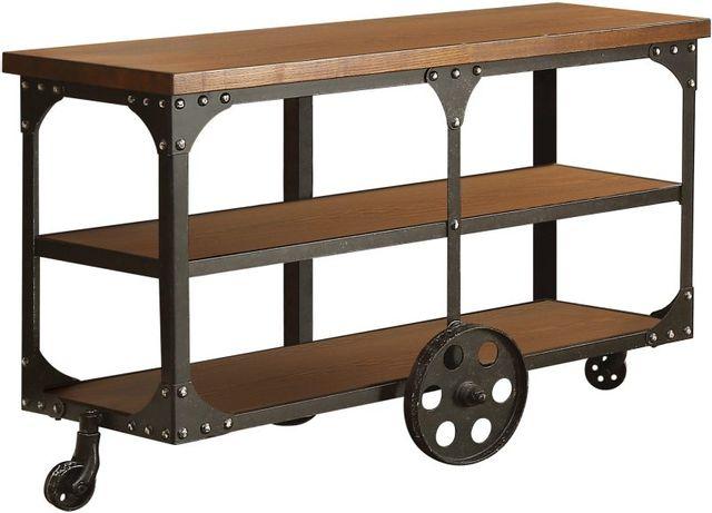 Coaster® Roy Rustic Brown Sofa Table-701129