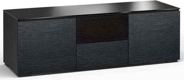 Salamander Designs® Chicago 236 AV Cabinet-Textured Black Oak-C/CH236/BO