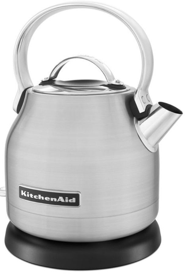 KitchenAid® 1.25 L Brushed Stainless Steel Electric Kettle-KEK1222SX