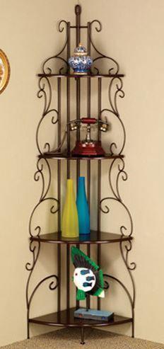 Coaster® Corner Bookcase-910038
