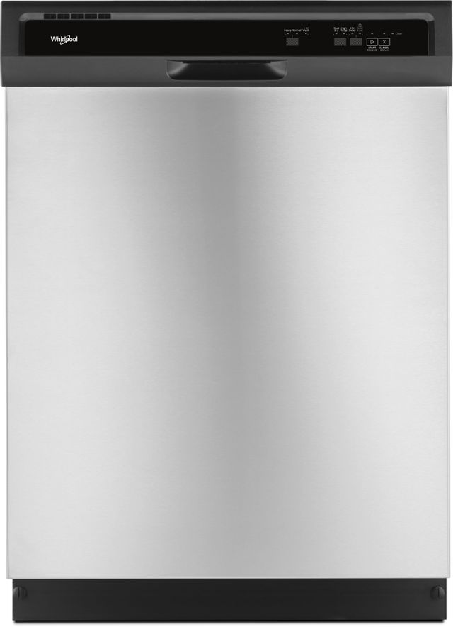 """Whirlpool® 24"""" Built In Dishwasher-Stainless Steel-WDF330PAHS-60-GSD"""