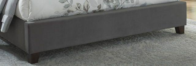 Kasidon Dark Gray King/Cal King Upholstered Footboard-B600-556