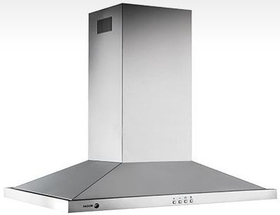 """Fagor Pyramid 36"""" Wall Mounted Vent Hood-Stainless Steel-60CFP-36IX"""