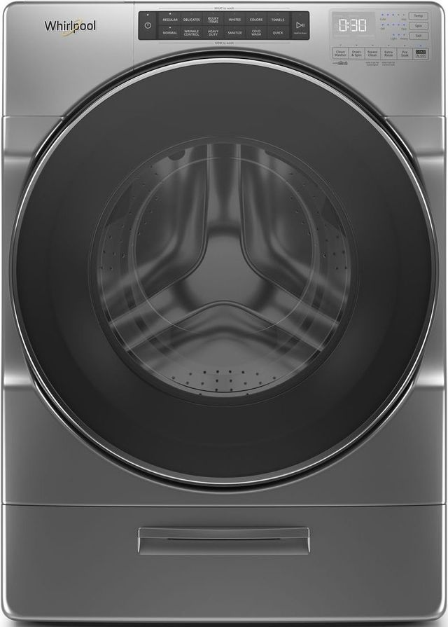 Whirlpool® 4.5 Cu. Ft. Chrome Shadow Front Load Washer-WFW6620HC