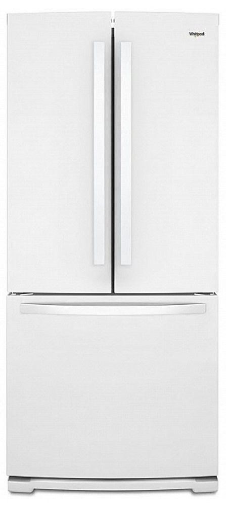 Whirlpool® 20 Cu. Ft. White French Door Refrigerator-WRF560SFHW