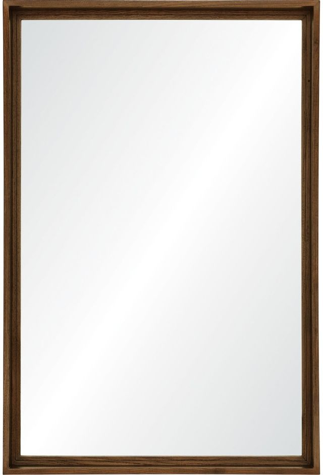Miroir en noyer Pershing, noyer, Renwil®-MT2380