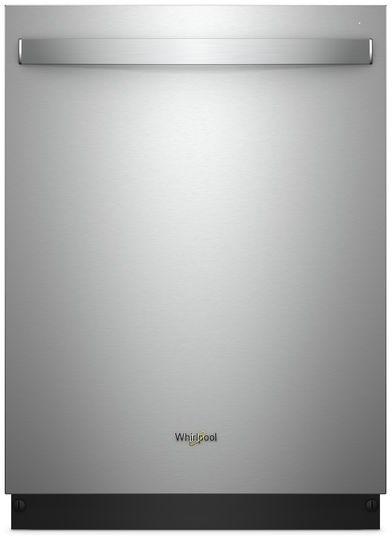 "Whirlpool® 24"" Built In Dishwasher-Fingerprint Resistant Stainless Steel-WDT975SAHZ"