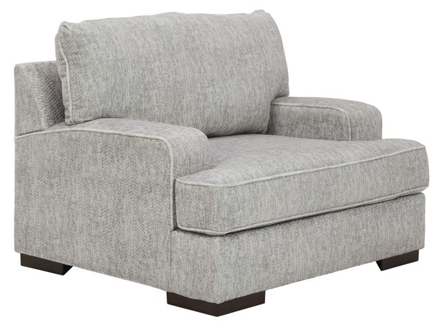 Benchcraft® Mercado Pewter Chair and a Half-8460423