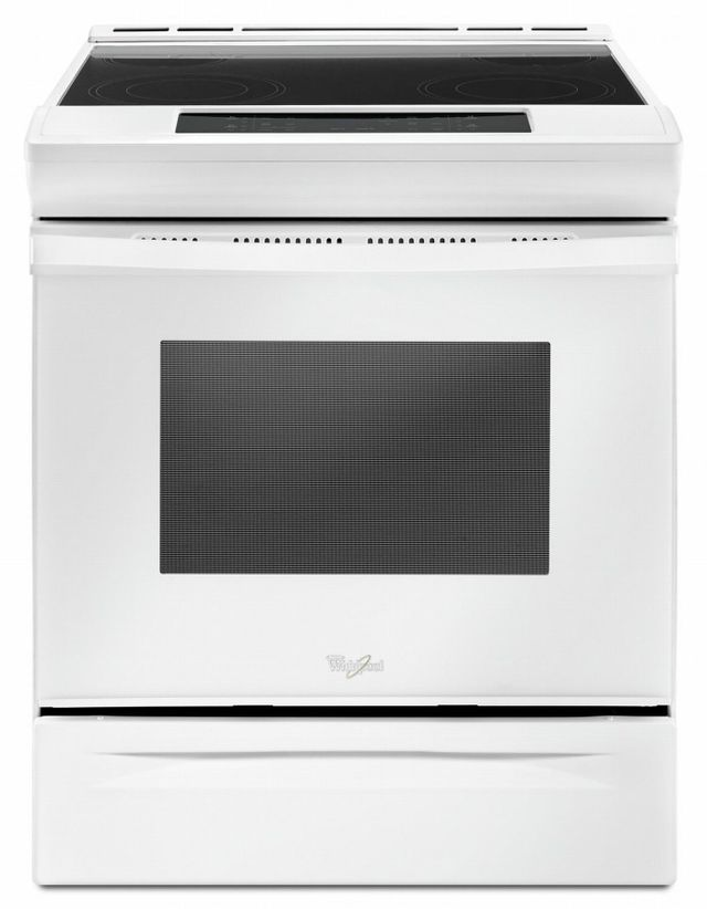 Whirlpool® 4.8 Cu. Ft. White Slide In Electric Range-YWEE510S0FW