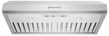 "KitchenAid® 36"" Stainless Steel Under Cabinet Range Hood-KVUC606JSS"
