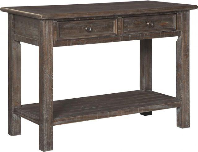 Signature Design by Ashley® Wyndahl Rustic Brown Sofa Table-T648-4
