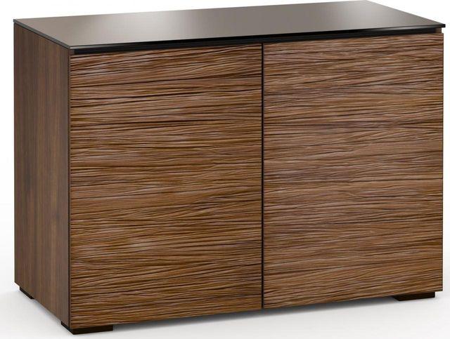 Salamander Designs® Denver 323 RM Pro Audio Rack-Textured Medium Walnut-C/DV323RM/MW