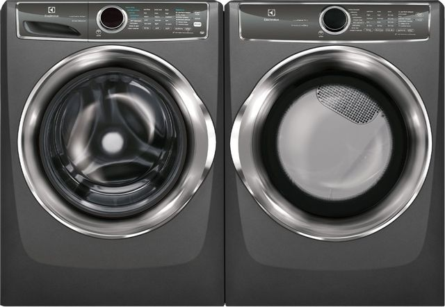 Electrolux Titanium Front Load Laundry Pair-ELLAUEFMG627UTT