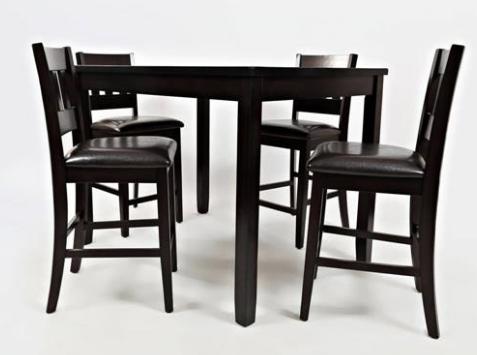 Jofran Inc. Dark Rustic Prairie Counter Height Table-923