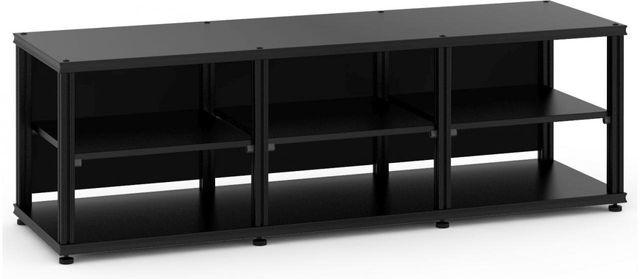 Salamander Designs® Synergy Triple 20 AV Cabinet-Black-SL20B/B