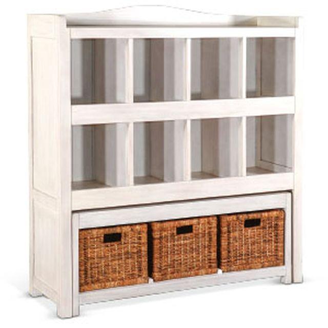 Sunny Designs Storage Bookcase w/ Trundle Bench-2993MW