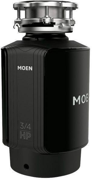 Moen® GX Series 0.75 HP Continuous Feed Black Garbage Disposal-GX75C