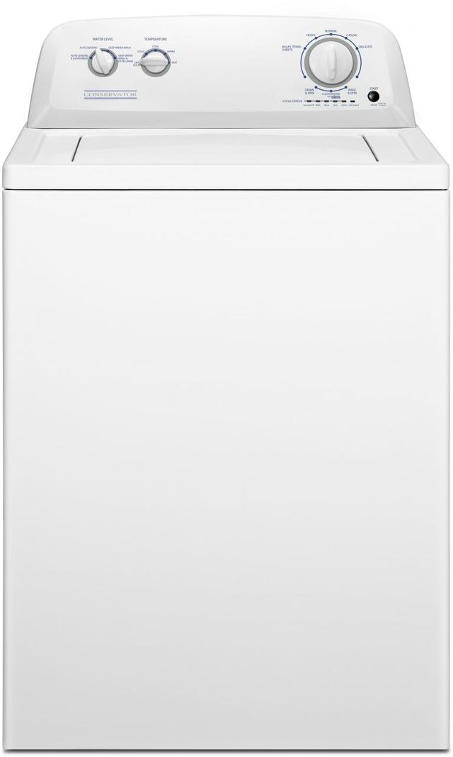 Crosley® Conservator 3.5 Cu. Ft. White Top Load Washer-VAW3584GW