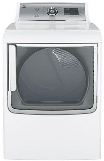 GE® Front Load Dryer-White-GTD81ESSJWS