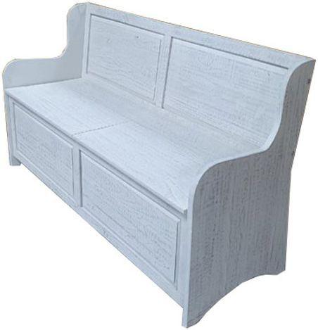 Signature Design by Ashley® Dannerville Antique White Storage Bench-A3000199