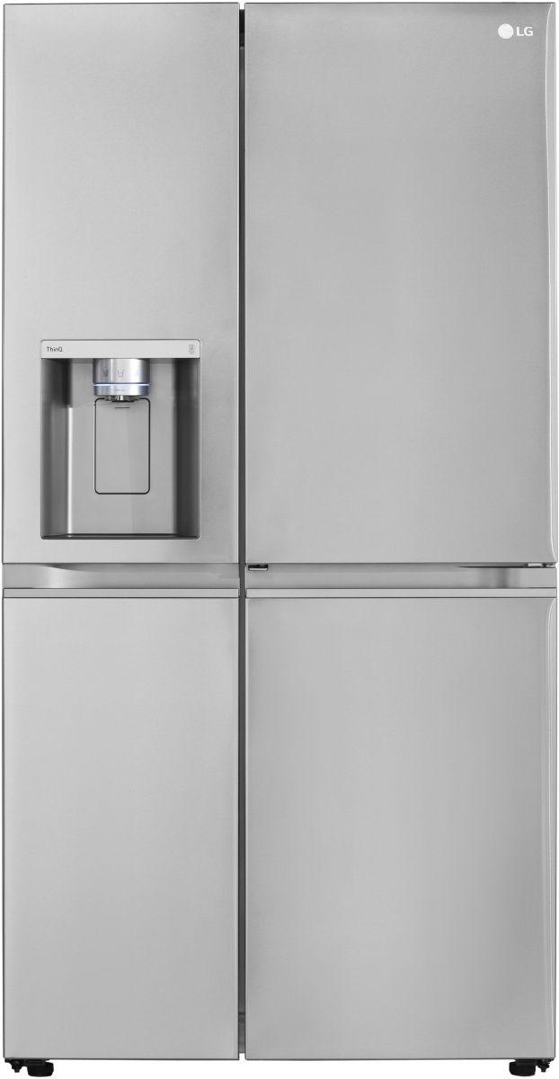 LG 27.1 Cu. Ft. PrintProof™ Stainless Steel Side-by-Side Refrigerator-LRSDS2706S