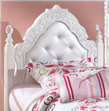 Signature Design by Ashley® Exquisite Twin Poster Headboard/Footboard-B188-71