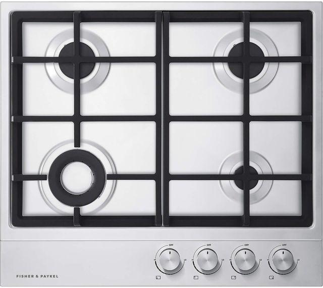 Table de cuisson au gaz Fisher Paykel® de 24 po - Acier inoxydable-CG244DLPX1 N