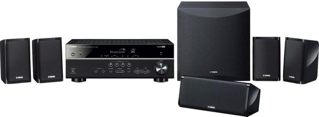 Yamaha® 5.1-Channel Home Theater System-YHT-4950UBL